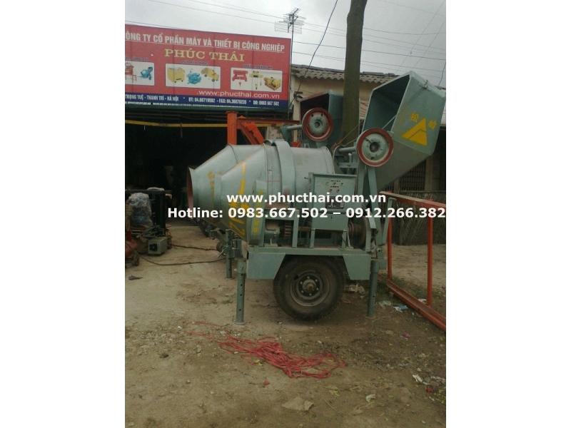 máy trộn bê tông 1 bao xi măng